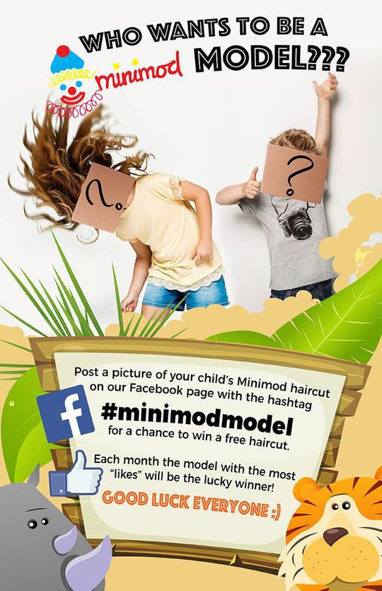 Haircuts children Laval Brossard | Home | Minimod Coiffure
