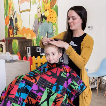 Salon coiffure enfants Laval Brossard | Accueil | Minimod ...